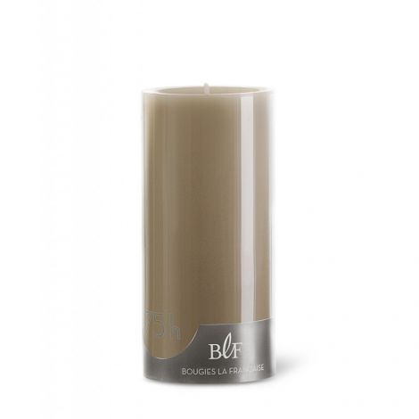 Image 1 - Bougie cylindrique ø7 x H15 cm taupe