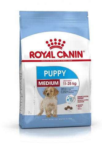 Image 1 - Croquettes Royal Canin Chiot Medium Puppy 4 kg