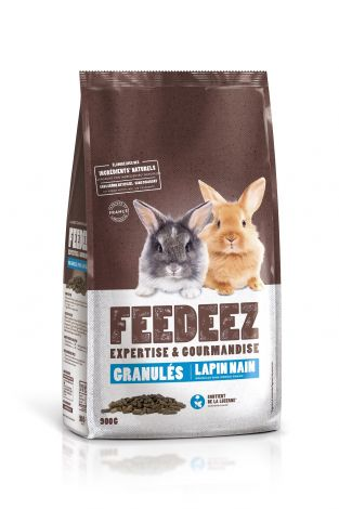 Image 1 - Feedeez - Granule complet pour lapin nain - 900g
