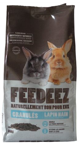 Image 2 - Feedeez - Granule complet pour lapin nain - 900g
