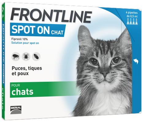 Image 1 - Frontline Pipettes Chat 4X0,5 ml