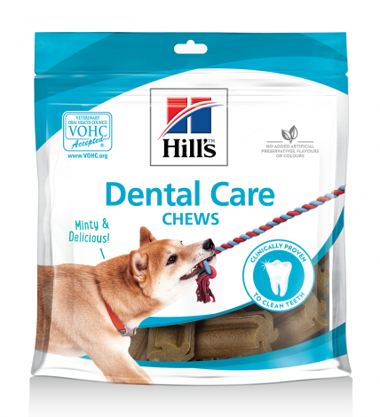 Image 1 - Biscuits Hill' Dental Care Chews Dog Treats 170 g