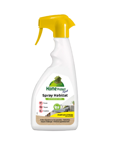 Image 1 - Home Protect - Spray Habitat Citron flacon de 500ml