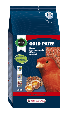 Image 1 - Versele Laga - Orlux Gold Patee pour canaris rouge 250 g