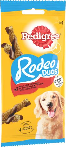 Image 1 - Pedigree - Rodeo Duos Bœuf et Fromage 123 g