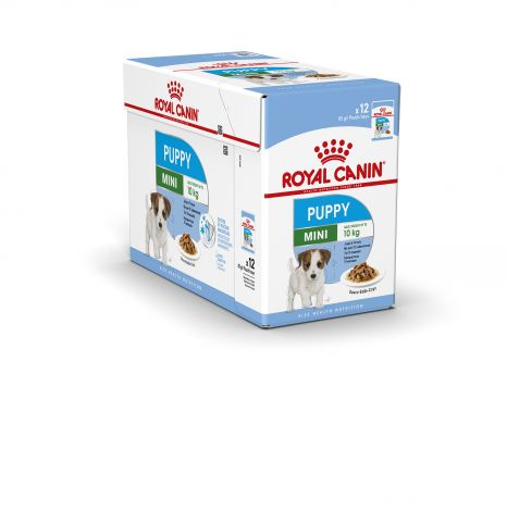 Image 1 - Croquettes Royal Canin Mini Puppy 85 gr - 12 sachets