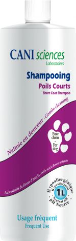 Image 0 - Shampoing Poil Court Caniscience 1L