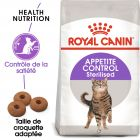 Croquettes Royal Canin Chat Appetite Control Sterilised 2 kg