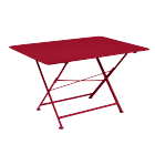 Fermob - Table pliante Cargo piment - L.128 x l.90 x H.74 cm