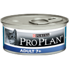 Pro Plan Chat Adult 7+ - Mousse au thon - 85g