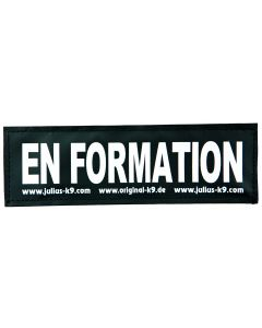 2 Stickers Velcro Julius-K9®, L, En Formation