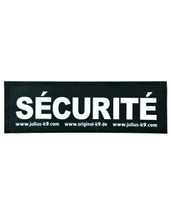 2 Stickers Velcro Julius-K9®, L, Sécurité