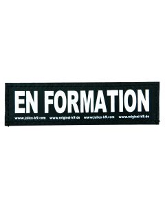 2 Stickers Velcro Julius-K9®, S, En Formation