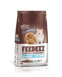 Feedeez - Granules pour lapin junior - 800g