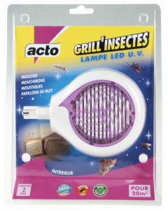Acto - Grill'insectes lampe led UV