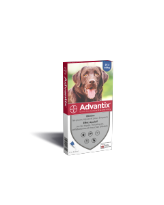 Advantix - Traitement antiparasitaire grand chien 4 pipettes