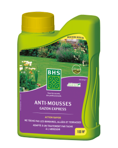 Anti-mousses gazon express liquide 900 ml