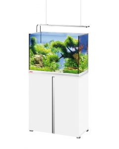 Aquarium Proxima 175L Plus LED Blanc et Meuble