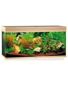 Aquarium RIO 180 Led light wood - L.101 x l.41 x H.50 cm