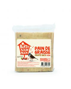 Birdy Nam Nam - Pain de graisse fruits secs 315 gr.