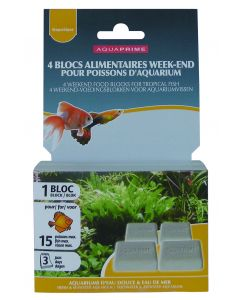 Bloc Weekend Poissons 30G Aquaprime