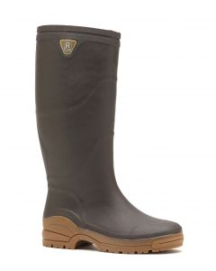 Botte en SEBS Optimum, coloris marron, taille 44