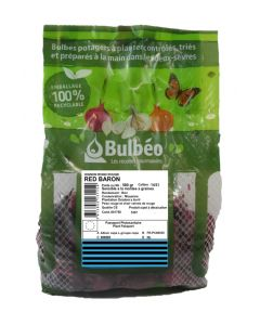 Bulbéo - Bulbes Oignon rouge Red Baron 14/21 500 g