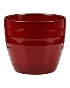 Cache Pot 923 Dark Red 25Cm