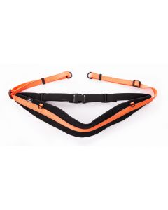 Ceinture Running pro+ orange fluo 60 - 95 cm