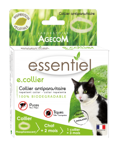 Essentiel - E.collier Chat Phosphorescent 35 cm