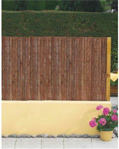 clture dcorces de pin milwaukee 15x3m - Osier Vivant Jardiland