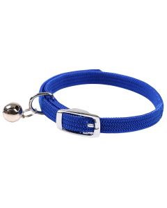 Collier Chat Elastic Wouapy Bleu