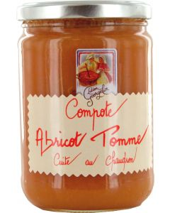 Compote Abricot Pomme 590g Lucien Georgelin