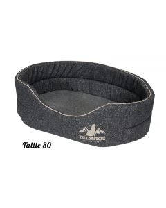 Corbeille mousse Comfort Yellowstone pour chien Taille 80 cm