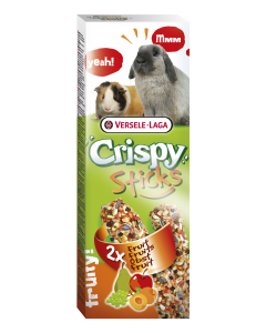 Crispy Sticks Lapins-Cochon d'inde Fruits 2x55 gr