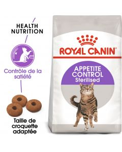 Croquettes Appetite control sterilised 400g