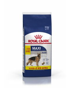 Croquettes Royal Canin Chien Maxi Adult 15 kg + 3 kg offerts