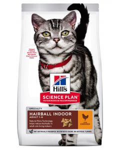 Croquettes Feline Adult Hairball Indoor Poulet 1,5 kg