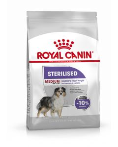 Croquettes pour chien Sterilised Care Medium 10kg