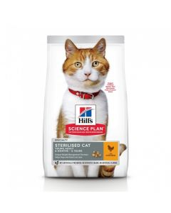 Hill's - Science Plan Feline Sterilised Cat Adult Poulet 1,5 kg
