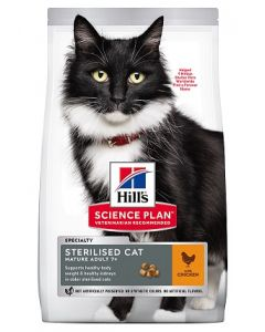 Hill's - Science Plan Sterilised Cat Mature Adult Poulet 1,5 kg