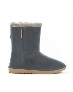 Demi botte Cheyenne pour adulte anthracite taille 36/37
