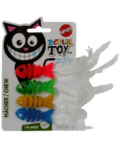 Dental Health Chew Fish Cat Toy Spot