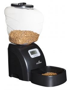 Distributeur automatique Pet Feeder noir L23,5 x l39 x h34 cm