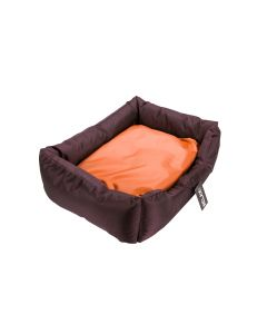 Divan Nylon Orange/Marron Relax Dog 55X45X25Cm
