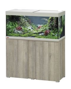 Eheim - Aquarium et meuble Vivaline 180 L oak grey H.119 cm