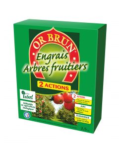Engrais Arbres Fruitiers 2.5Kg Double Actions