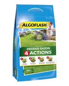 Algoflash - Engrais gazon 4 actions 10 kg