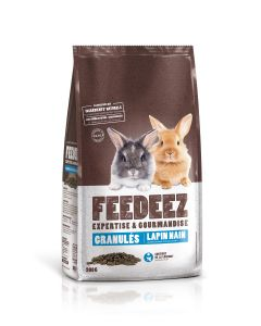 Feedeez - Granule complet pour lapin nain - 900gr