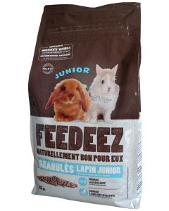 Feedeez - Granules Lapin Junior 2,5Kg